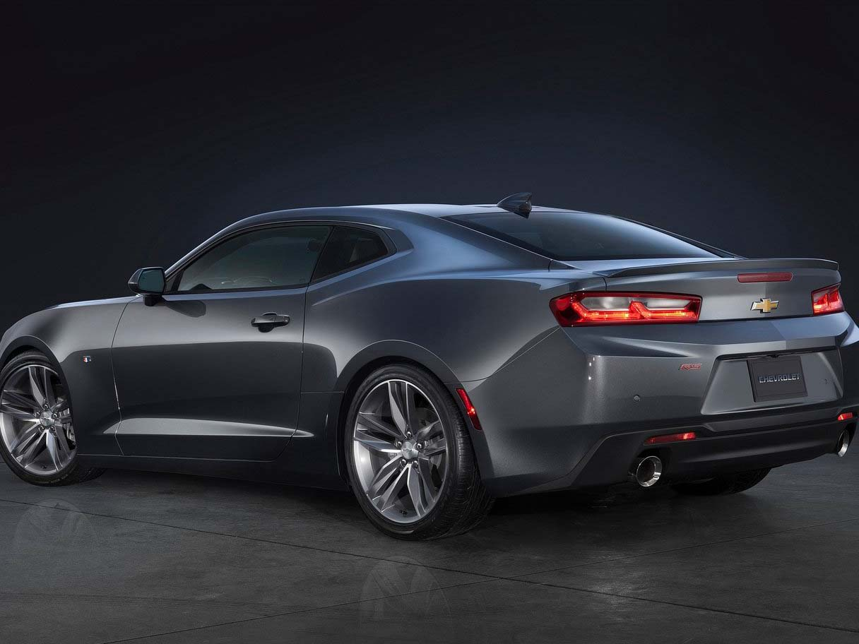 2018 Chevrolet Camaro Coupe Full