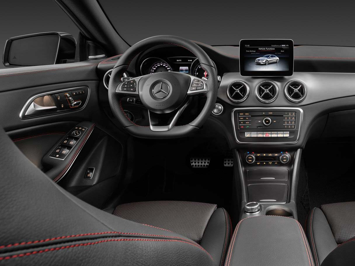 mercedes amg cla benz and new front pictures details