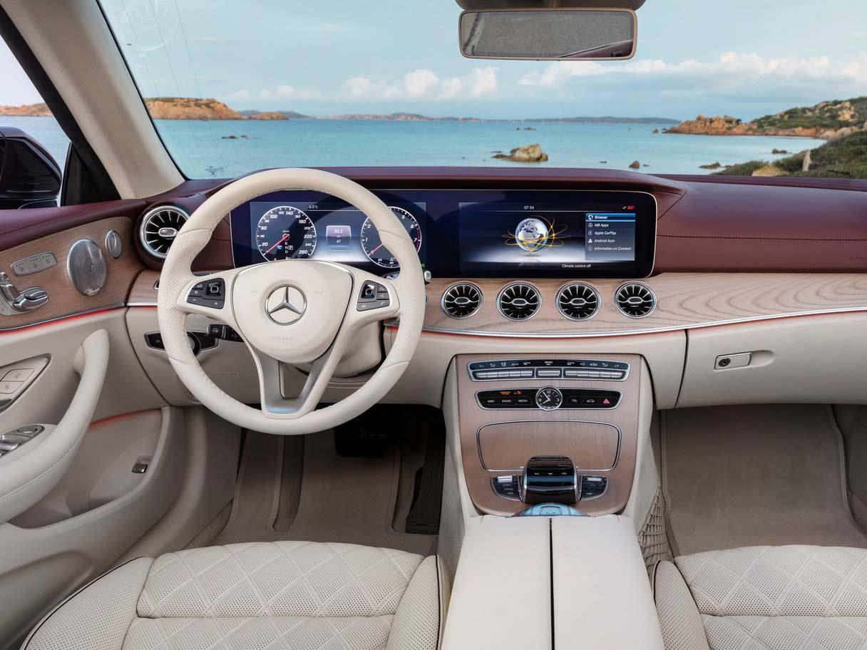 2019 Mercedes Benz E Cl Convertible Full