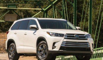 2018 Toyota Highlander Suv Lease Offers Car Lease Clo