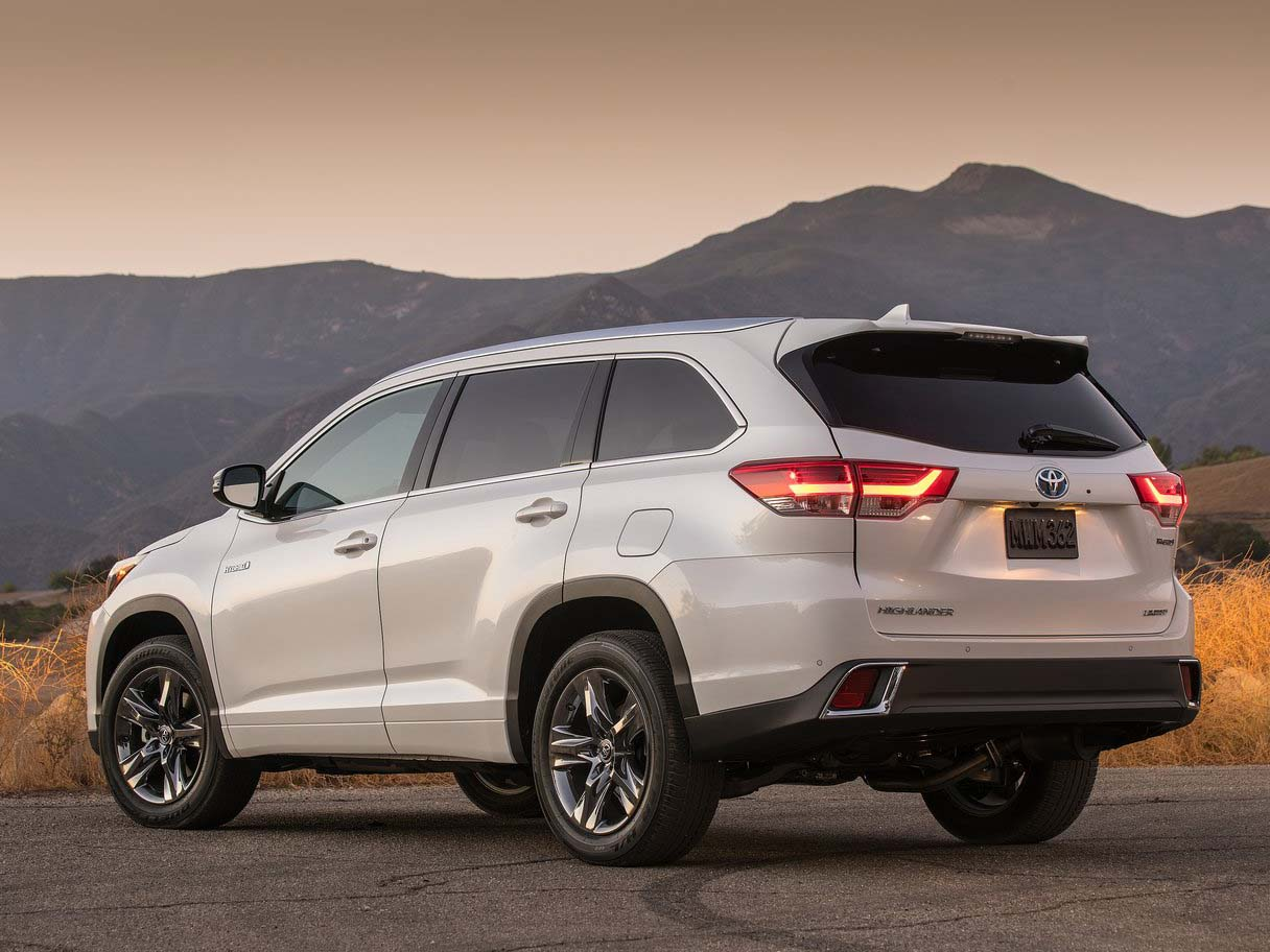 2018 Toyota Highlander Suv Full